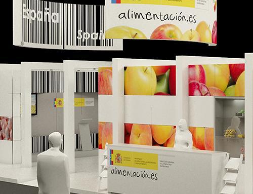 CONCURSO PARA STAND DEL MAGRAMA EN FRUIT ATTRACTION | MADRID | 2012